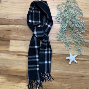 Charter Club Luxury 100% Cashmere Plaid Scarf